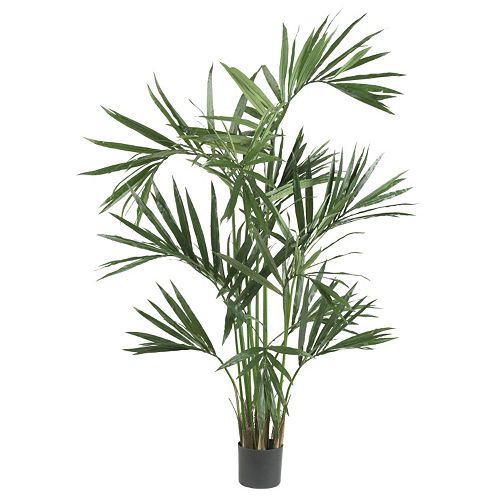 nearly natural 6-ft. Silk Kentia Palm Tree