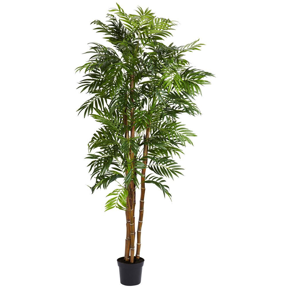 nearly natural 6-ft. Silk Bella Palm Tree
