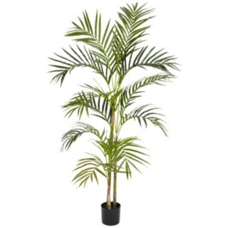 nearly natural 4-ft. Silk Areca Palm Tree