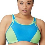 Glamorise Bra: Double Layer Custom Control High-Impact Sports Bra 1166