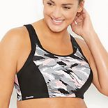 Plus Size Glamorise Full-Figure Adjustable Wire-Free Sport Bra 1166