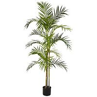 nearly natural 5-ft. Silk Areca Palm Tree