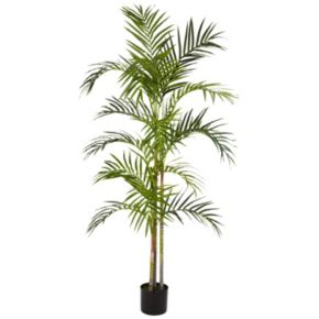 nearly natural 5-ft. Silk Areca Palm Tree