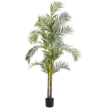 nearly natural 7-ft. Silk Areca Palm Tree