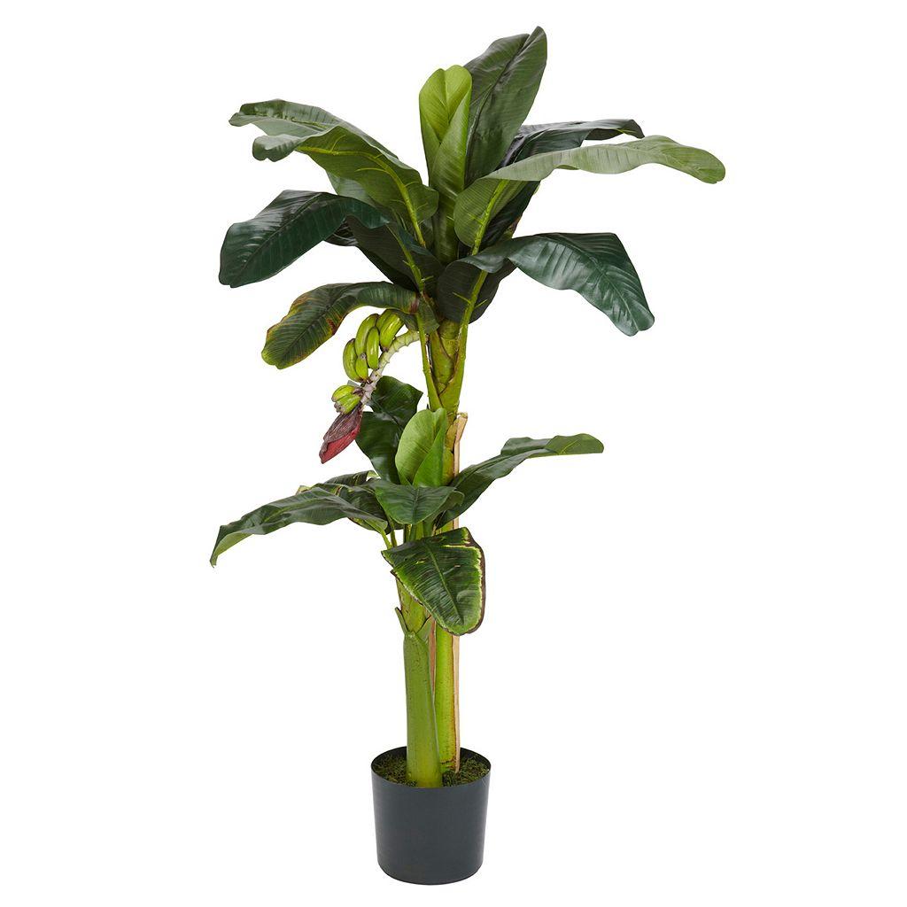 5-ft. Silk Banana Tree with Bananas