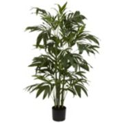 nearly natural 4-ft. Silk Bamboo Palm Tree