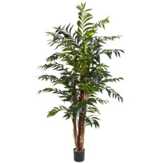 nearly natural 5-ft. Silk Bamboo Palm Tree