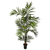 nearly natural 6-ft. Silk Kenitia Palm Tree