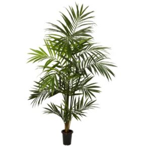 nearly natural 7-ft. Silk Kenitia Palm Tree