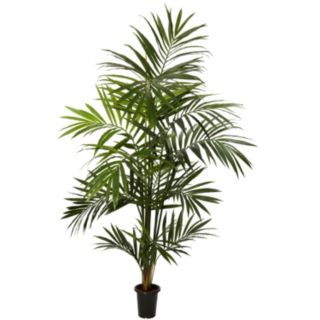 nearly natural 7-ft. Silk Kenitia Palm Tree