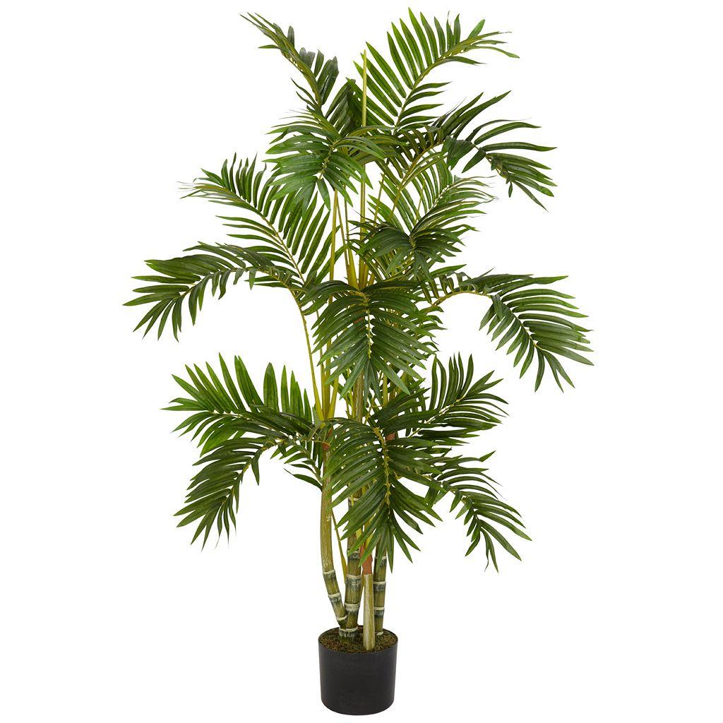nearly natural 4-ft. Silk Areca Palm Tree
