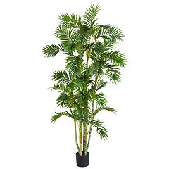 nearly natural Silk 6-ft. Areca Palm Tree