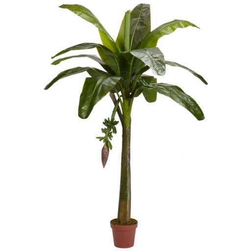 nearly natural Silk 6-ft. Banana Tree