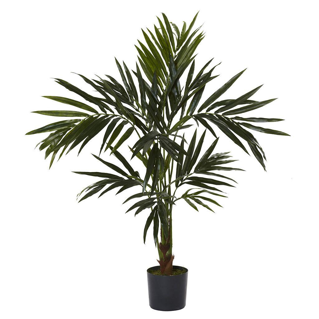 nearly natural Silk 5-ft. Kentia Tree