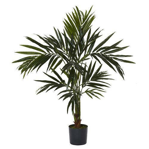 nearly natural Silk 5-ft. Kentia Tree