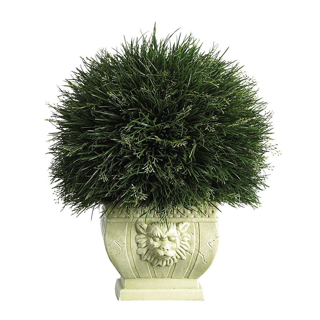 nearly natural Artificial Potted Grass - Indoor & Outdoor