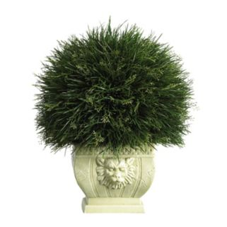 nearly natural Artificial Potted Grass - Indoor and Outdoor