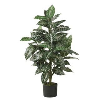 nearly natural Silk 3-ft. Zebra Plant