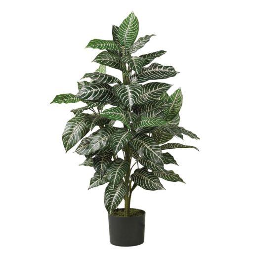 nearly natural Silk 3-ft. Zebra Plant