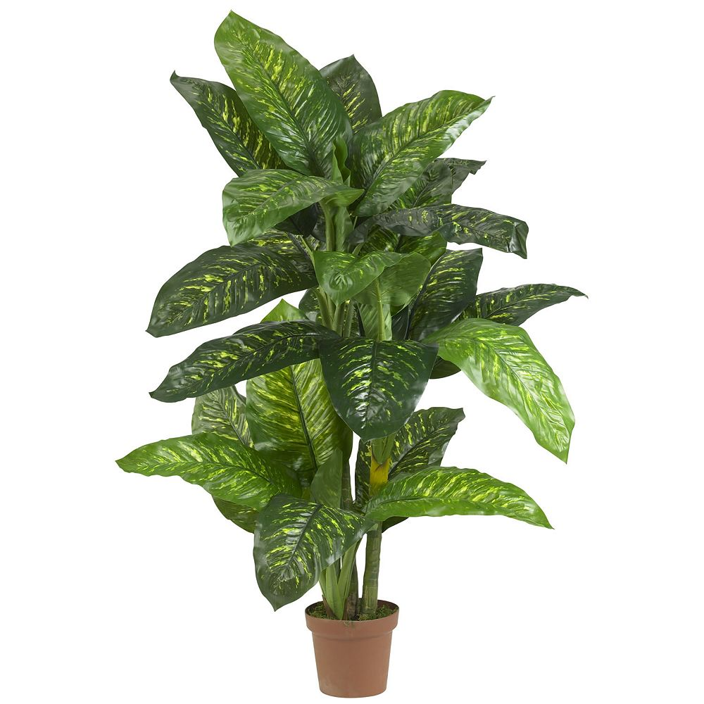 nearly natural Silk 5-ft. Dieffenbachia Plant