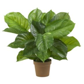nearly natural Silk Large Leaf Philodendron Plant