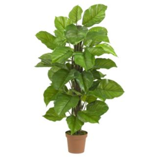 nearly natural Silk 52-in. Large Leaf Philodendron Plant
