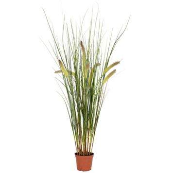 nearly natural Artificial 2 1/2-ft. Grass Plant