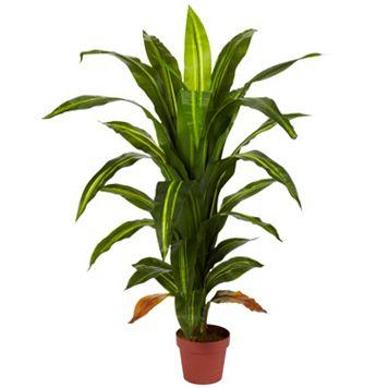 nearly natural Silk 4-ft. Dracaena Plant
