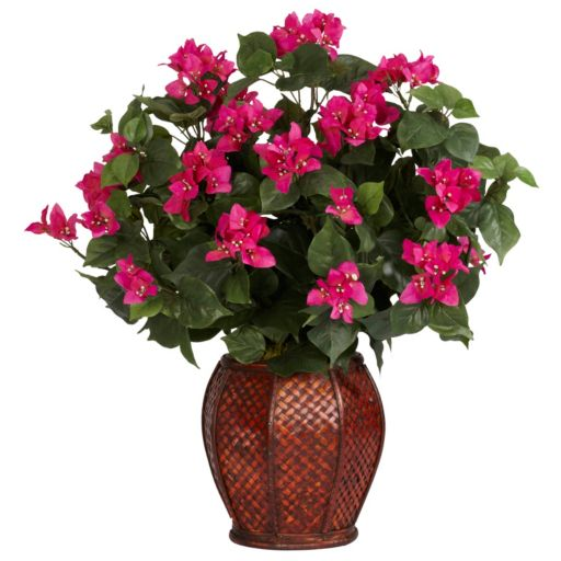 nearly natural Silk Bougainvillea Plant
