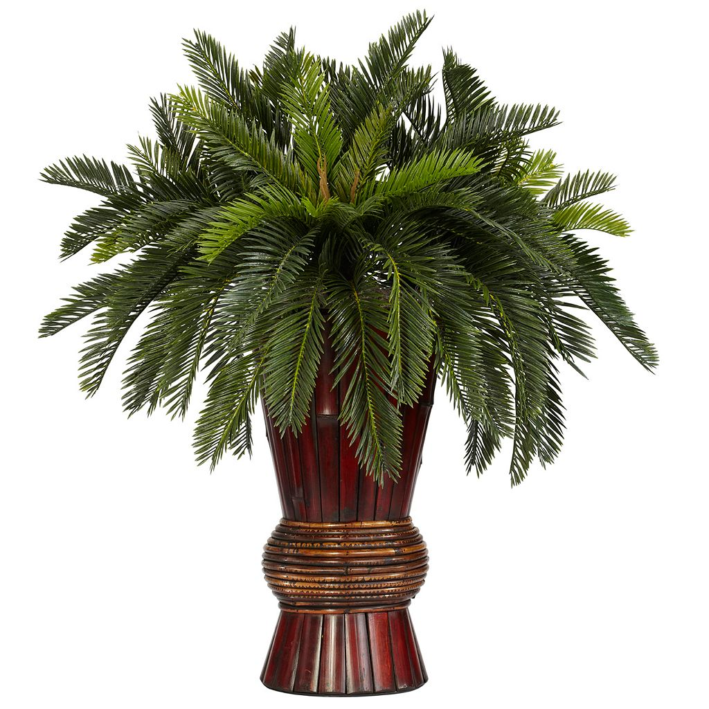 nearly natural Silk Cycas Plant