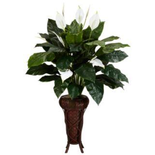 nearly natural Silk Spathyfillum Plant