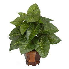 nearly natural Silk Taro Plant