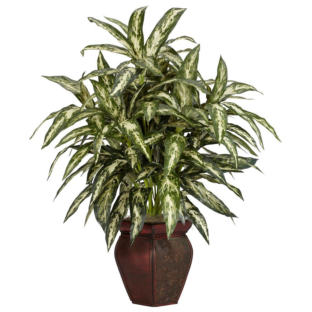nearly natural Silk Aglonema Plant