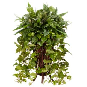 nearly natural Silk Vining Mixed Greens Plant