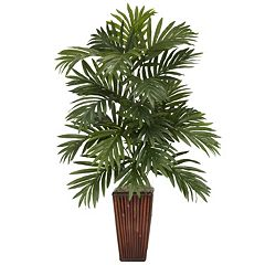nearly natural Silk Areca Palm Plant