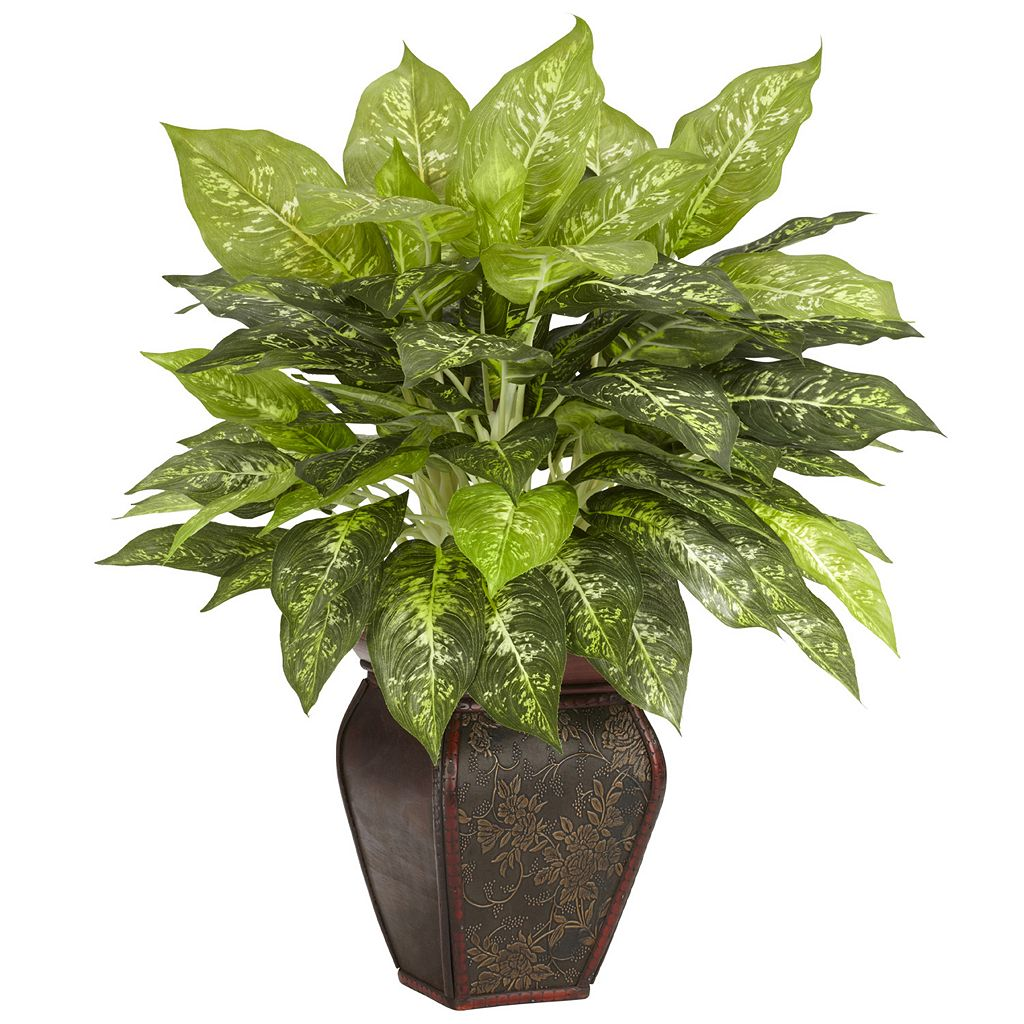 nearly natural Silk Dieffenbachia Plant