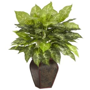 nearly natural Silk Dieffenbachia Plant
