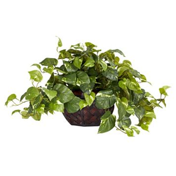 nearly natural Silk Pothos Plant