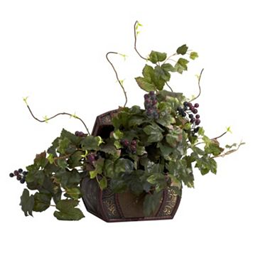 nearly natural Silk Grape Leaf Plant