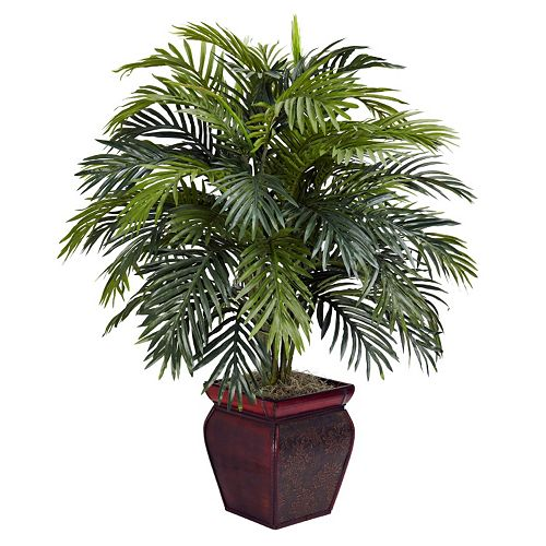 nearly natural Silk Areca Plant