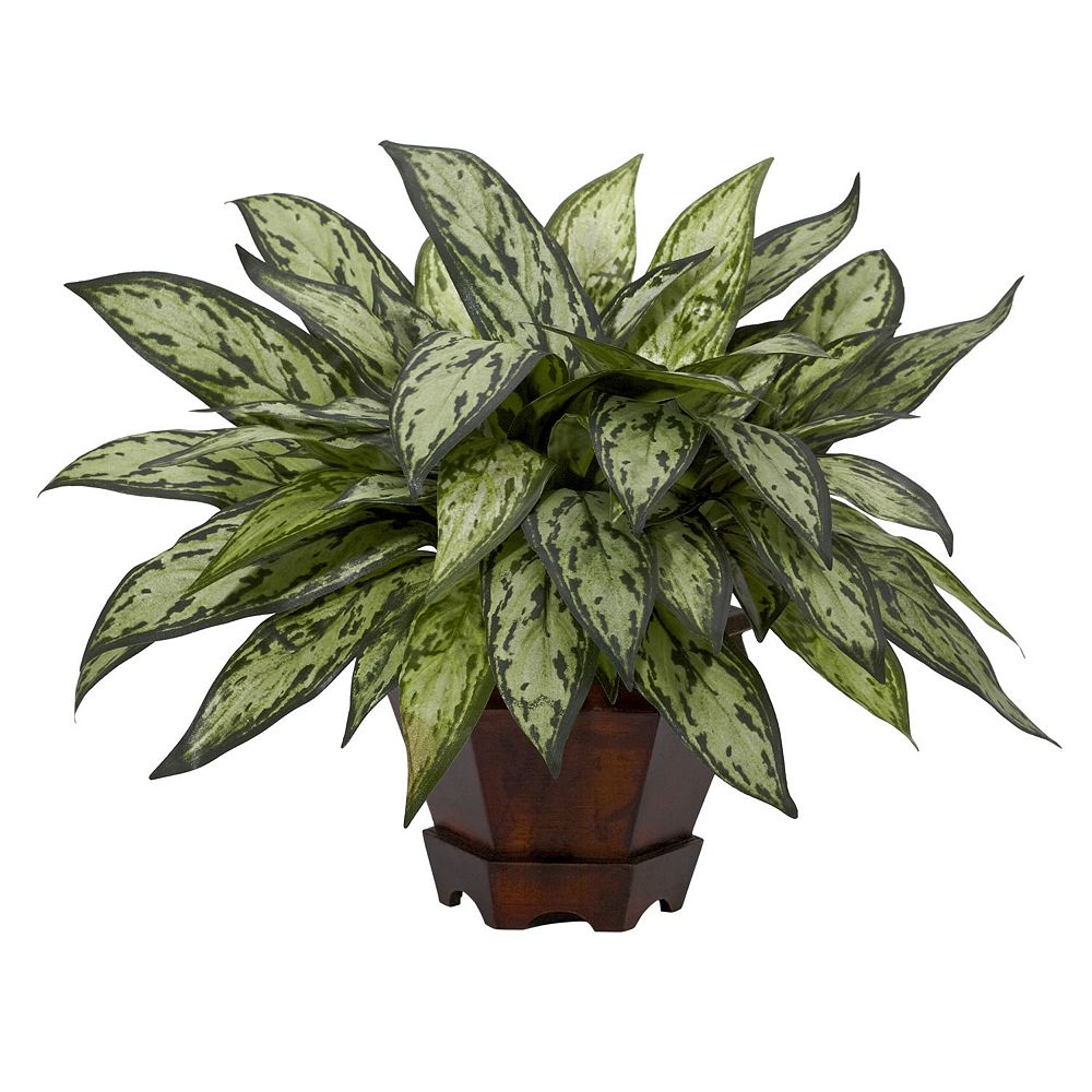 nearly natural Silk Triple Silver Queen Plant