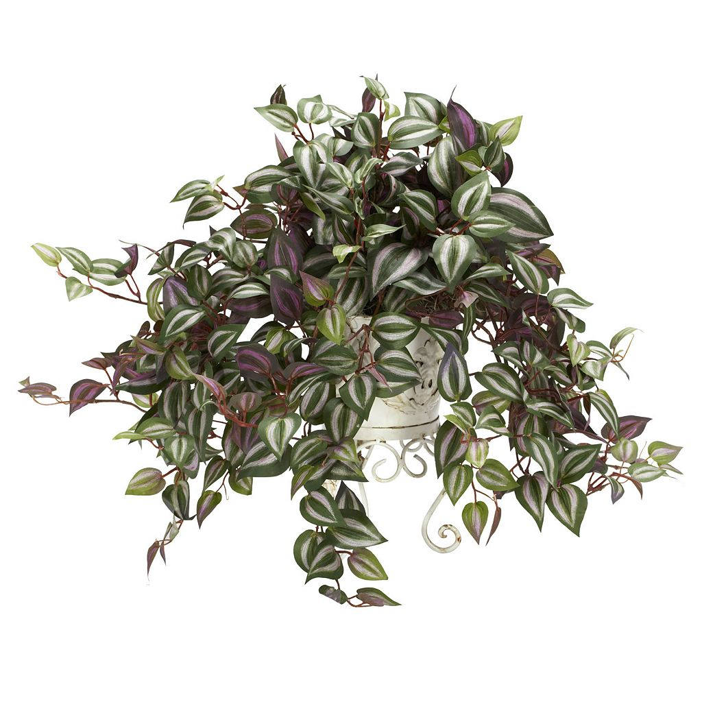nearly natural Silk Wandering Jew Plant