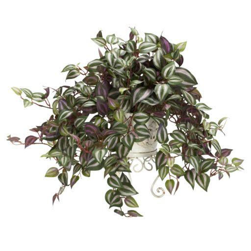 nearly natural Silk Wandering Jew Plant