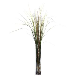 nearly natural Silk Grass and Bamboo Plant