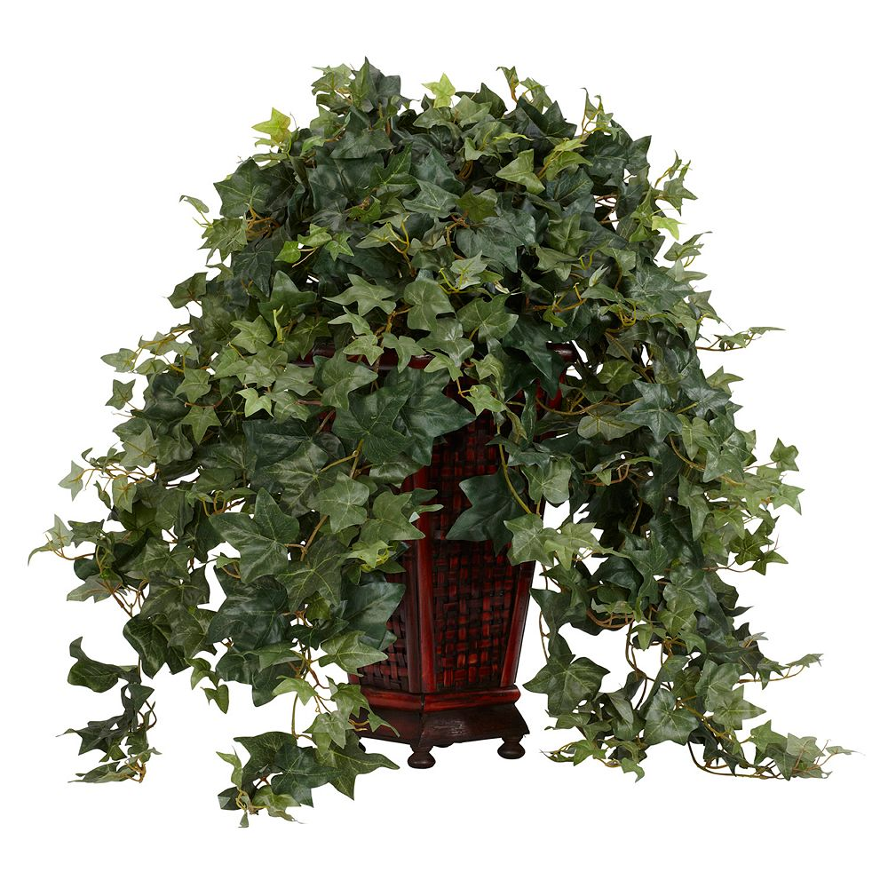 nearly natural Silk Vining Puff Ivy Plant
