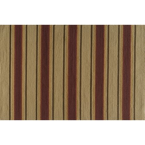 Momeni Veranda Striped Indoor Outdoor Rug - 2' x 3'