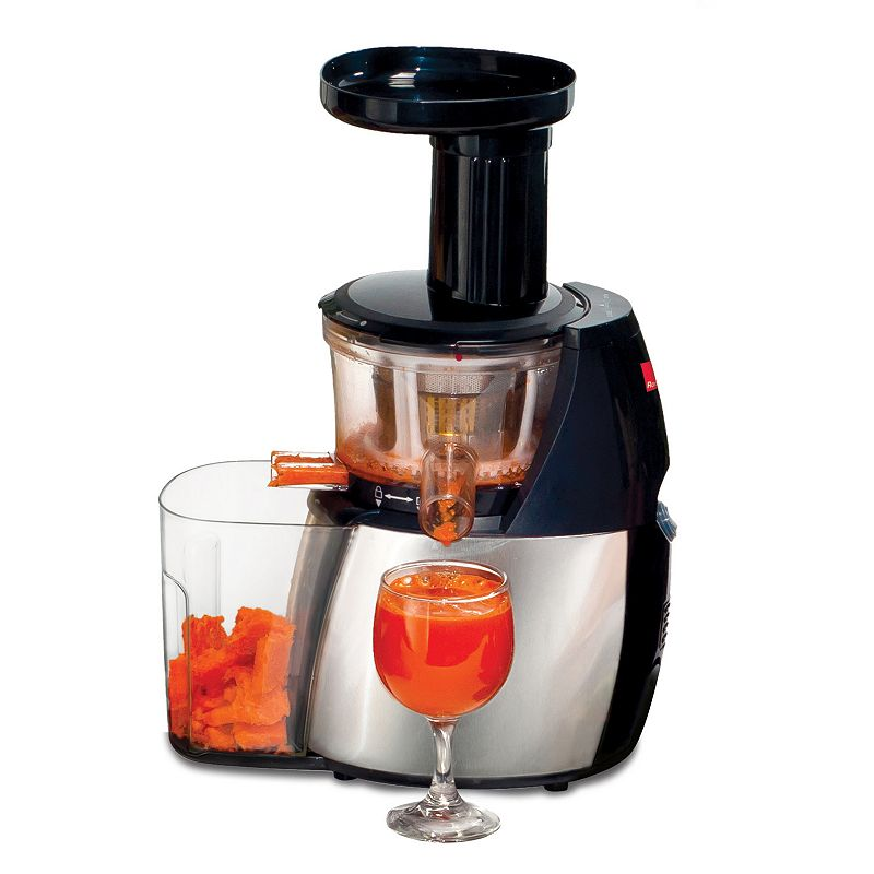 Ronco Stainless Steel Smart Masticating Juicer
