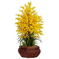 nearly natural Silk Dancing Lady Floral Arrangement