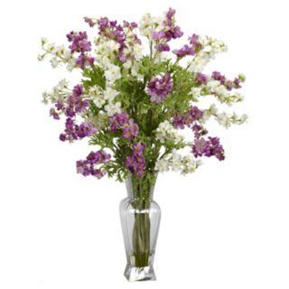 nearly natural Liquid Illusion Silk Dancing Daisy Floral Arrangement