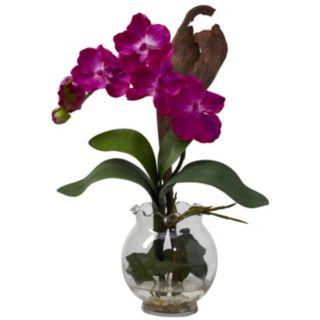 nearly natural Liquid Illusion Silk Vanda Floral Arrangement